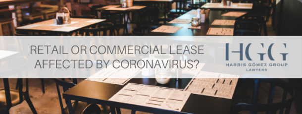 Australia – Retail & Commercial Property Tenants: What to do if COVID-19 has closed your premises