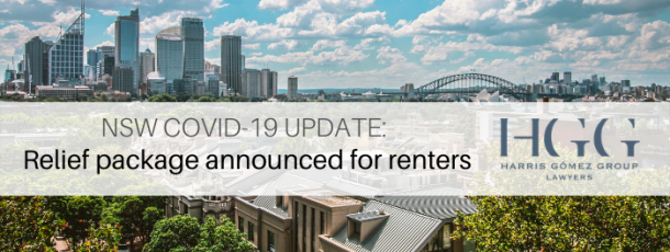 NSW COVID-19 Update: Relief package announced for renters