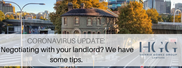 Coronavirus Update: Negotiating with your landlord? We have some tips.